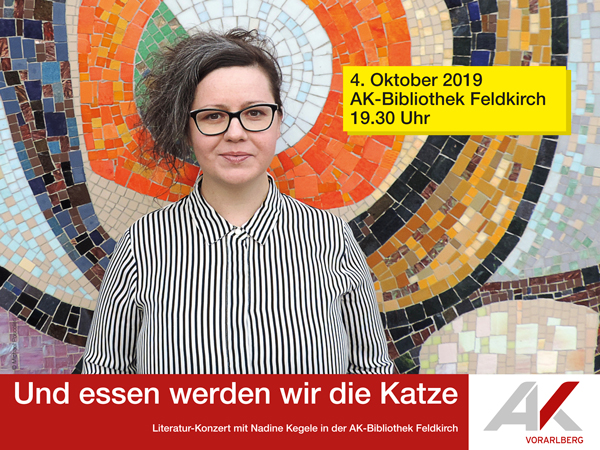 Literatur-Konzert mit Nadine Kegele